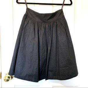 Anthropology Full Cotton Skirt